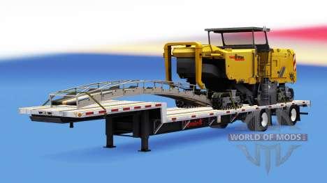 Сборник полуприцепов с грузами v1.1 для American Truck Simulator