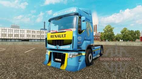 Тюнинг для Renault Premium для Euro Truck Simulator 2