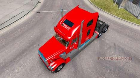 Скин Knights на тягач Freightline Coronado для American Truck Simulator