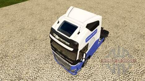 Скин H. Veldhuizen BV на тягач Volvo для Euro Truck Simulator 2