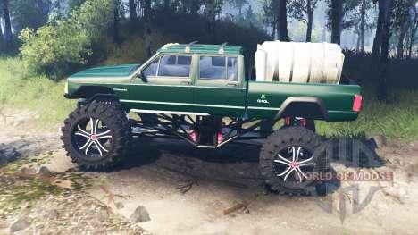 Jeep Grand Cherokee Comanche 4x4 v3.0 для Spin Tires