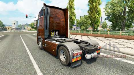 Скин Ferrugem на тягач Volvo для Euro Truck Simulator 2