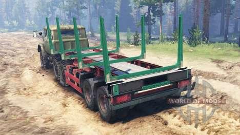 ЗиЛ-131 [сдвоенная кабина] для Spin Tires