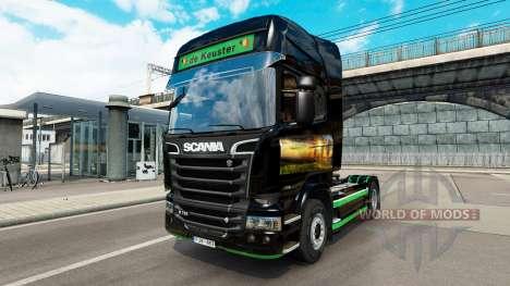 Скин Revada & de Keuster на тягач Scania для Euro Truck Simulator 2