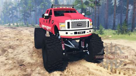 Ford F-350 [monster edition] для Spin Tires
