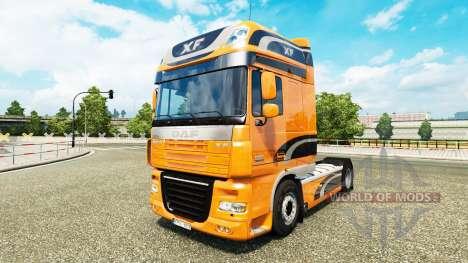 Скин DAF XF на тягач DAF XF 105.510 для Euro Truck Simulator 2