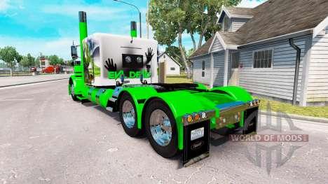 Скин Snake на тягач Peterbilt 389 для American Truck Simulator