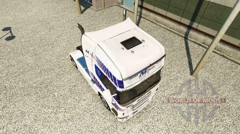 Скин M-Trex на тягач Scania для Euro Truck Simulator 2