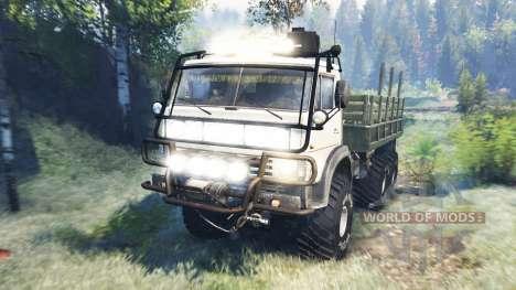 КамАЗ-4310 v6.0 для Spin Tires