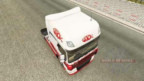 Скин G.J.Jack Ltd на тягач DAF для Euro Truck Simulator 2
