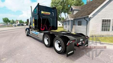 Скин Rockstar Energy на Freightliner Coronado для American Truck Simulator