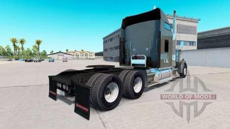 Скин Knight Refrigerated на тягач Kenworth W900 для American Truck Simulator