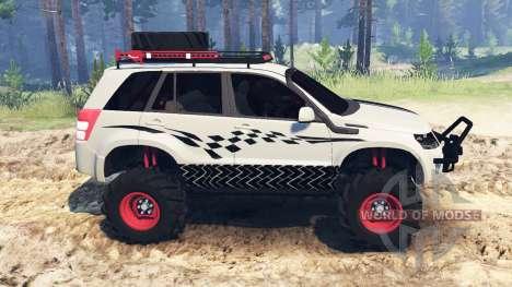 Suzuki Grand Vitara 2007 для Spin Tires