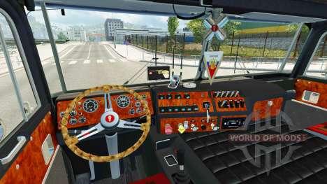Kenworth K100 v2.05 для Euro Truck Simulator 2