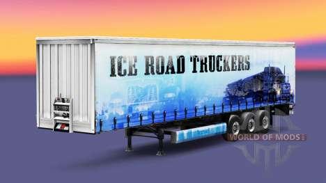 Скин Ice Road Truckers на полуприцеп для Euro Truck Simulator 2
