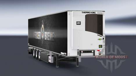 Полуприцеп Chereau Werder Bremen для Euro Truck Simulator 2