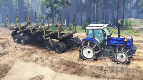 Deutz-Fahr AgroStar 6.61 для Spin Tires