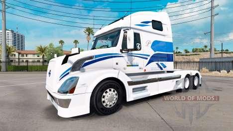 Скин Premiere на тягач Volvo VNL 670 для American Truck Simulator