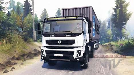 Volvo FMX 400 для Spin Tires