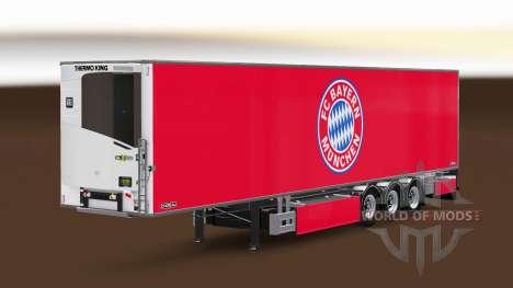 Полуприцеп Chereau FC Bayern Munchen для Euro Truck Simulator 2