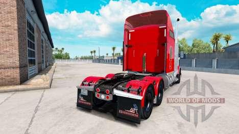 Kenworth T800 v1.2 для American Truck Simulator