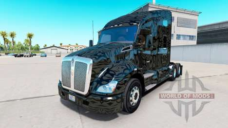 Скин Camo Stripes на тягач Kenworth для American Truck Simulator