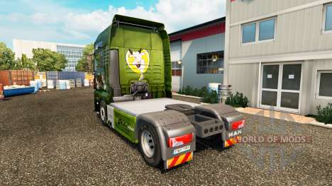 Скин Die Milch machts на тягач MAN для Euro Truck Simulator 2