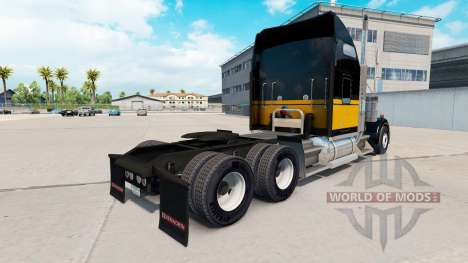 Скин Bandit Style на тягач Kenworth W900 для American Truck Simulator