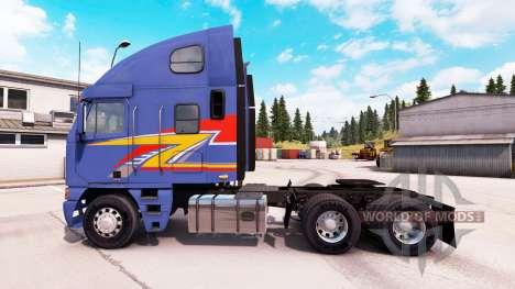 Freightliner Argosy [reworked] для American Truck Simulator