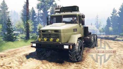 КрАЗ-6322 v2.0 для Spin Tires