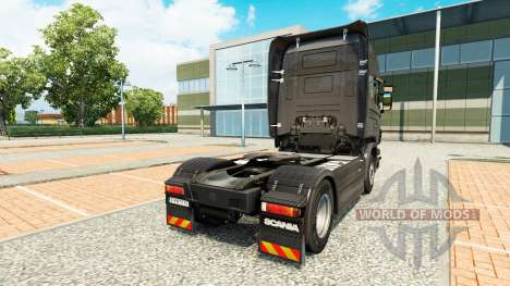 Скин Carbono на тягач Scania для Euro Truck Simulator 2
