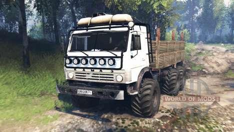 КамАЗ-43114 v4.0 для Spin Tires
