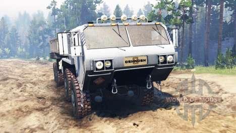 Oshkosh HEMTT M977 для Spin Tires