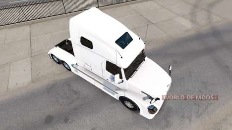 Скин North American на тягач Volvo VNL 670 для American Truck Simulator