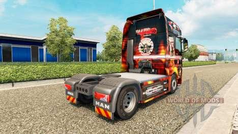Скин Support 81 на тягач MAN для Euro Truck Simulator 2