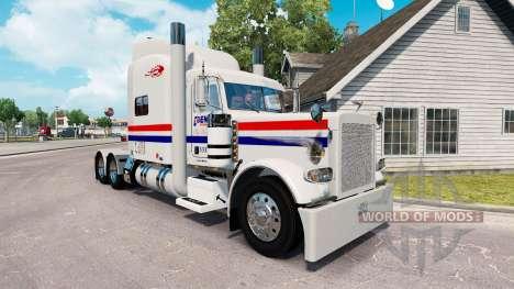 Скин Penner International на тягач Peterbilt 389 для American Truck Simulator