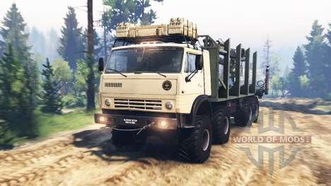 КамАЗ-63501-996 Мустанг v2.0 для Spin Tires