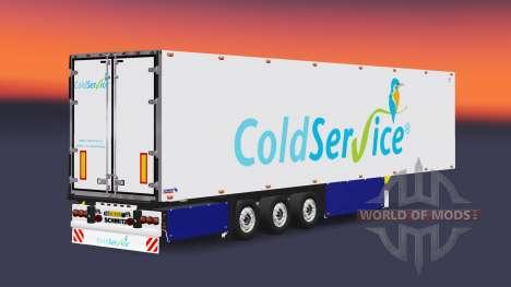 Полуприцеп-рефрижератор Schmitz Coldservice для Euro Truck Simulator 2