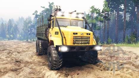 КрАЗ-6322 СССР для Spin Tires