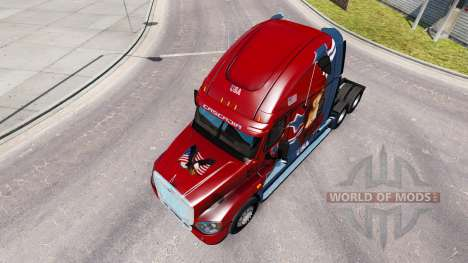 Скин Mandy на тягач Freightliner Cascadia для American Truck Simulator