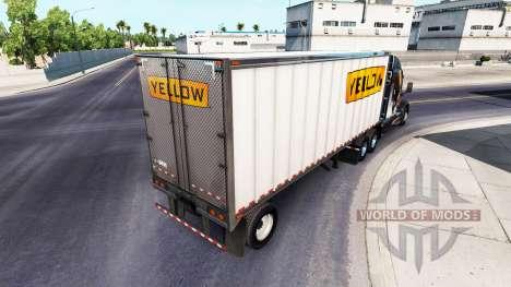 Реальные логотипы компаний на полуприцепы v1.1 для American Truck Simulator
