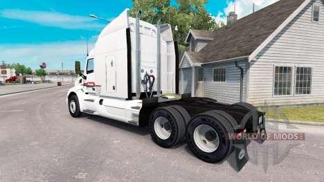 Скин P.A.M. на тягач Peterbilt для American Truck Simulator