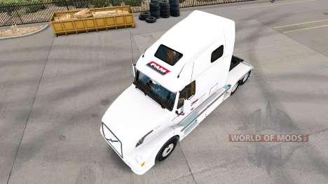 Скин P.A.M. на тягач Volvo VNL 670 для American Truck Simulator