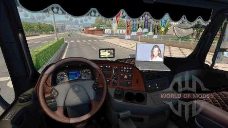 Тюнинг для Mercedes-Benz Actros MP3 для Euro Truck Simulator 2