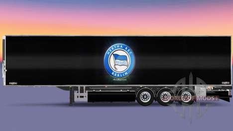 Полуприцеп Chereau Hertha BSC для Euro Truck Simulator 2