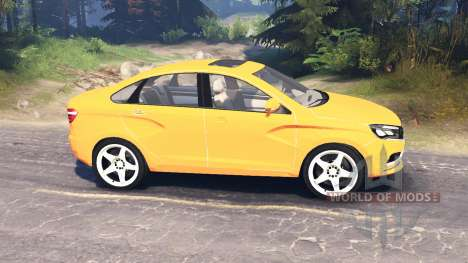 LADA Vesta (ВАЗ-2180) v2.0 для Spin Tires