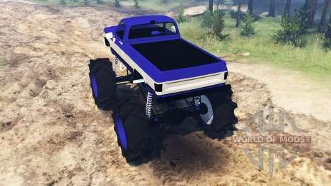 Chevrolet K20 для Spin Tires