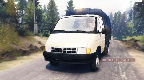 ГАЗ-3302 Газель v2.0 для Spin Tires