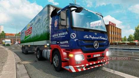 Скины для грузового трафика v1.3.1 для Euro Truck Simulator 2