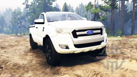 Ford Ranger 2016 для Spin Tires